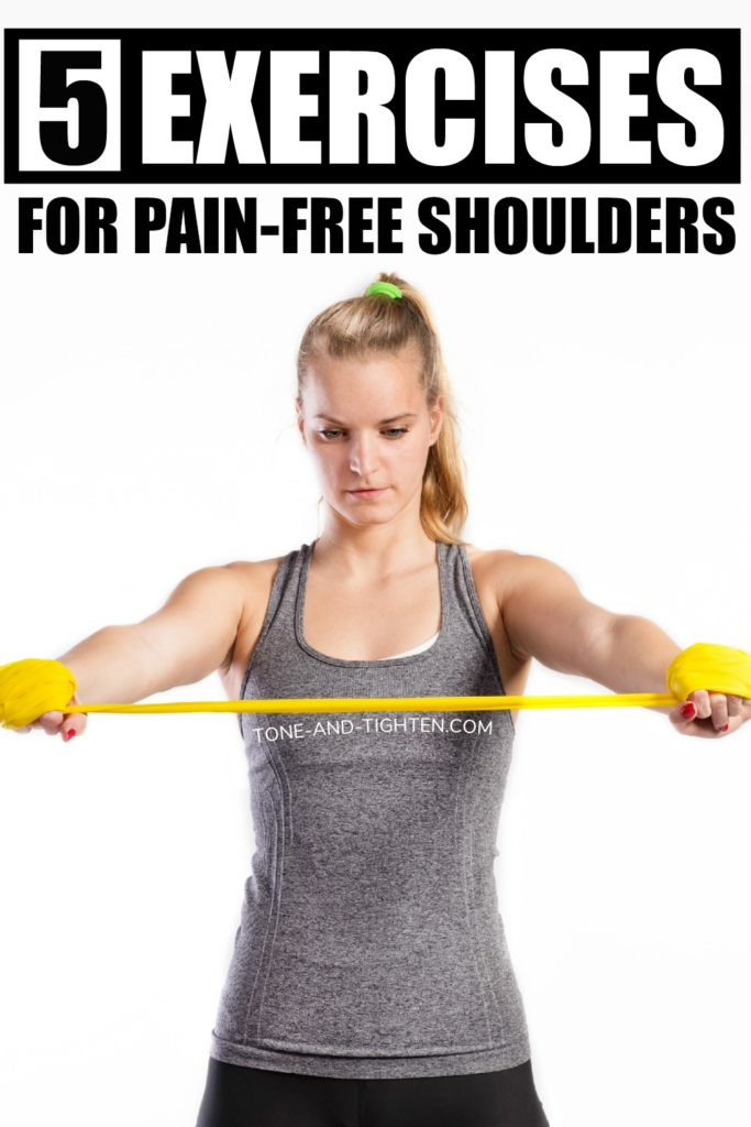 5 of the best rotator cuff exercises to alleviate painful shoulder symptoms. From a doctor of physical therapy.