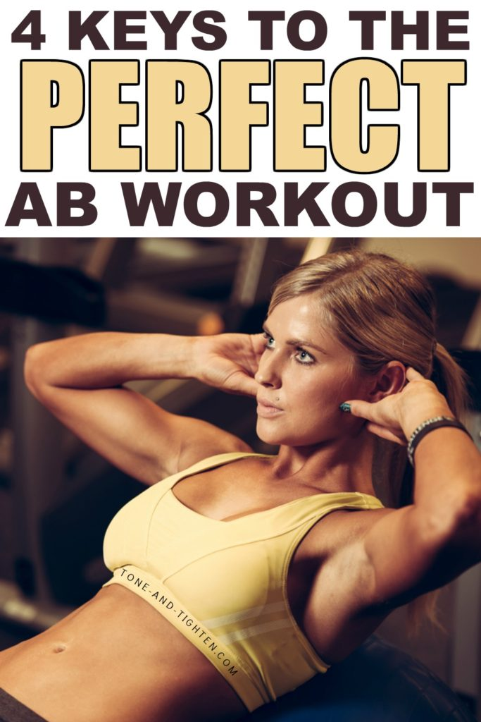 Complete Ab Workout At Home Tone And Tighten