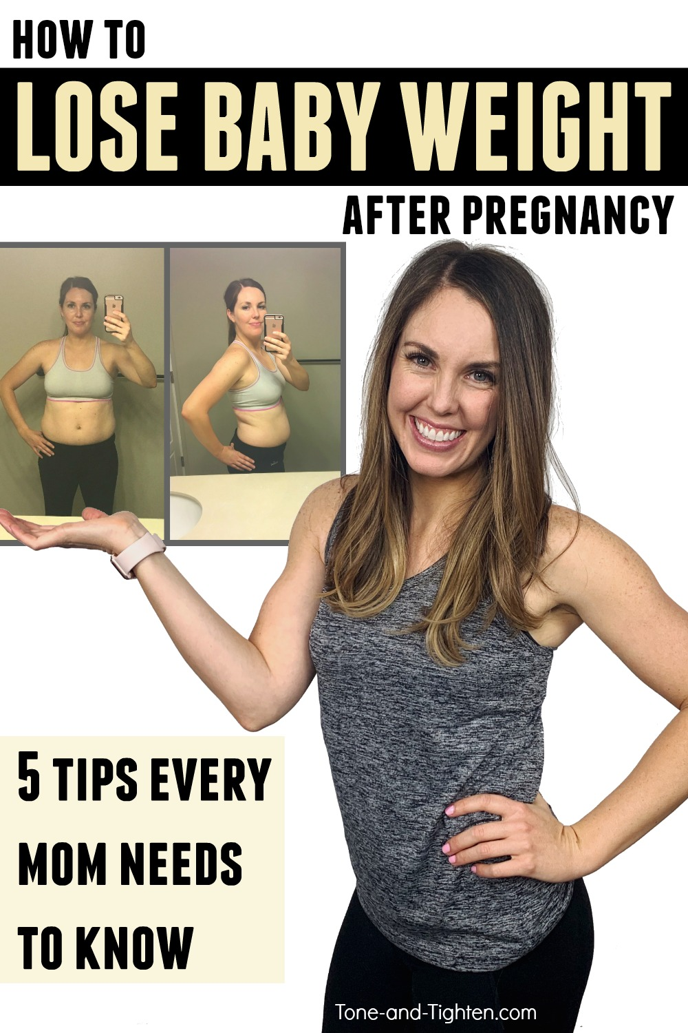 How To Heal Abdominal Separation, Lose Baby Fat, And Lose Baby Belly