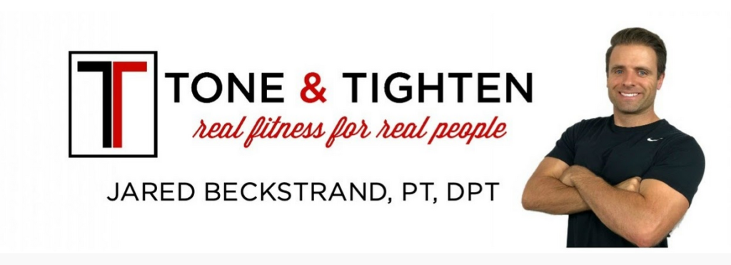 Jared Beckstrand YouTube physical therapist Tone and Tighten